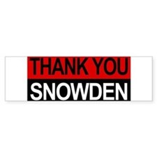 Edward Snowden Hero! Bumper Bumper Stickers