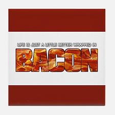 Bacon... Tile Coaster
