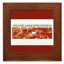 Bacon... Framed Tile