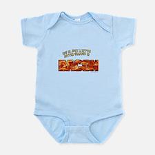 Bacon... Infant Bodysuit
