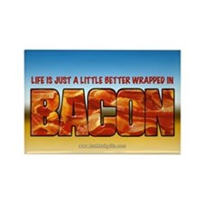 Bacon... Rectangle Magnet