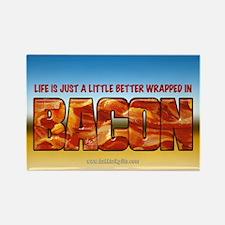 Bacon... Rectangle Magnet
