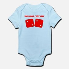 Custom Red Dice Two Two Body Suit
