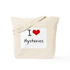 I Love Mysteries Tote Bag