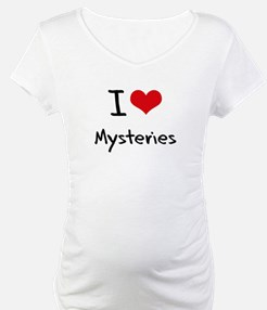 I Love Mysteries Shirt