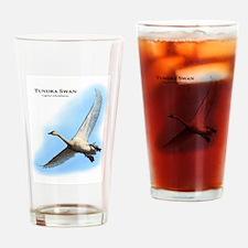 Tundra Swan Drinking Glass
