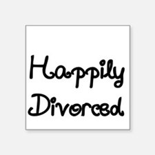 Happily Divorced 1 Sticker