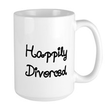 Happily Divorced 1 Mug