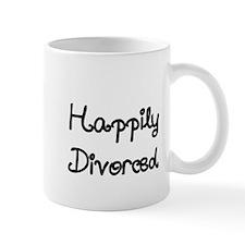 Happily Divorced 1 Small Mug