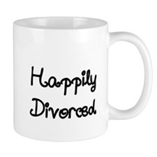 Happily Divorced 1 Small Mug