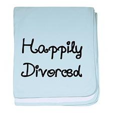 Happily Divorced 1 baby blanket