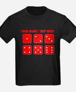 Custom Red Dice Set T-Shirt