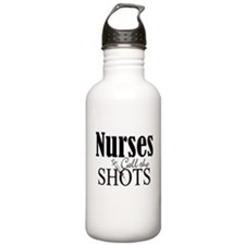 Nurses Call The Shots Sports Water Bottle