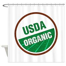 USDA Organic Shower Curtain