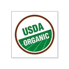 "USDA Organic Square Sticker 3"" x 3"""