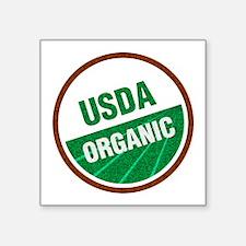 "USDA Organic Square Sticker 3"" x 3"""