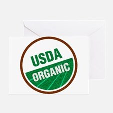 USDA Organic Greeting Card