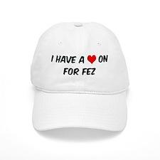 Heart on for Fez Baseball Cap