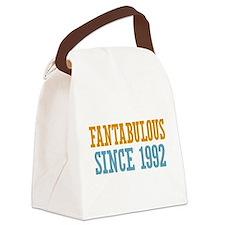 Fantabulous Since 1992 Canvas Lunch Bag