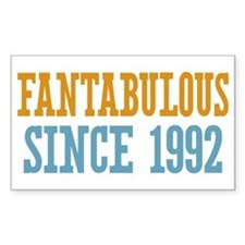 Fantabulous Since 1992 Decal