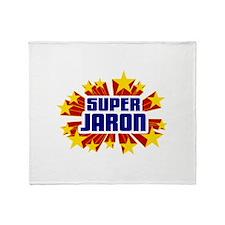 Jaron the Super Hero Throw Blanket