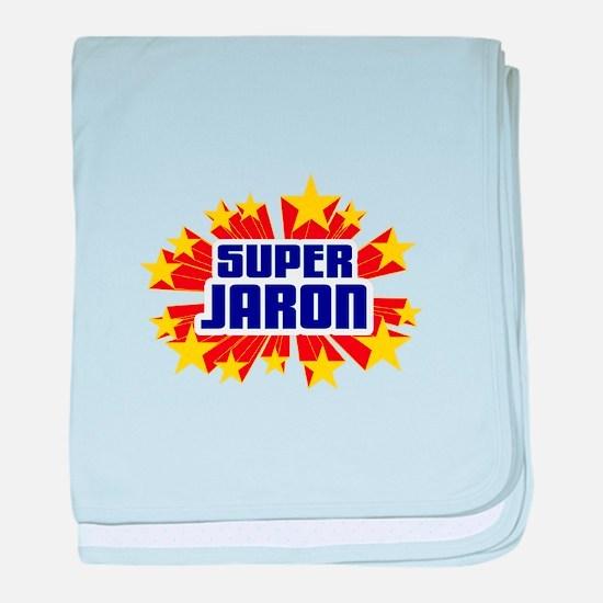 Jaron the Super Hero baby blanket
