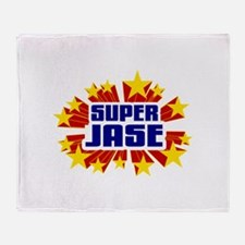 Jase the Super Hero Throw Blanket