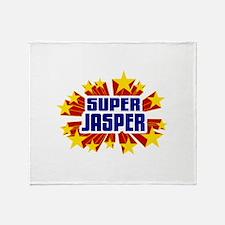 Jasper the Super Hero Throw Blanket