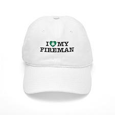 I Love my Irish Fireman Baseball Cap