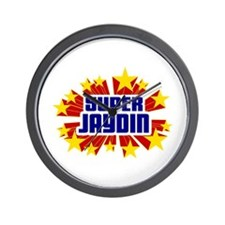 Jaydin the Super Hero Wall Clock