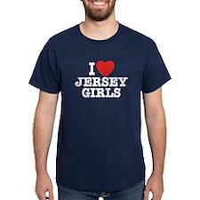 I Love Jersey Girls T-Shirt