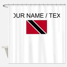 Custom Trinidad and Tobago Flag Shower Curtain
