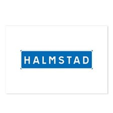 Road Marker Halmstad - Sweden Postcards (Package o
