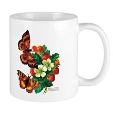 """Butterflies & Berries"" Mug"