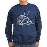 Crewneck (dark) Yarn Ball Sweatshirt