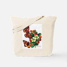 """""""Butterflies & Berries"""" Tote Bag"""