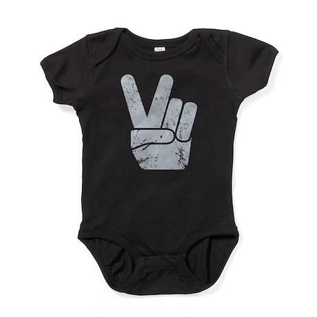 Vintage Peace Sign Baby Bodysuit