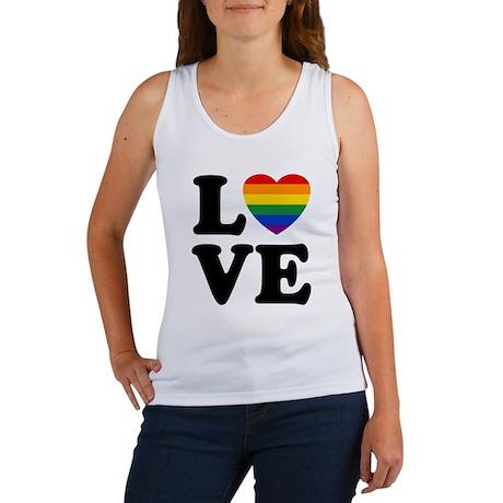 Gay Love Women's Tank Top