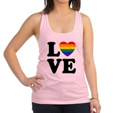 Gay Love Racerback Tank Top