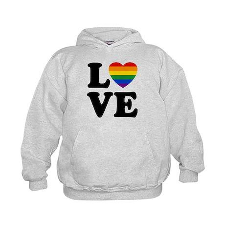 Gay Love Kids Hoodie