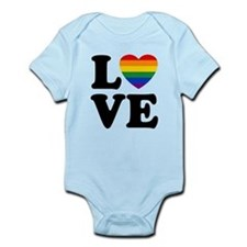 Gay Love Infant Bodysuit