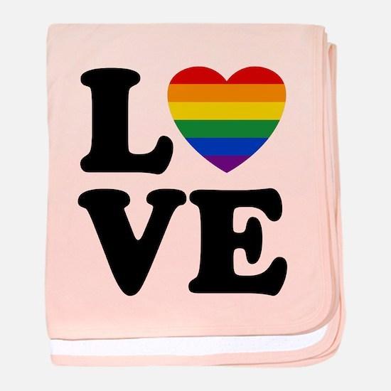 Gay Love baby blanket