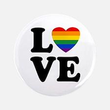 """Gay Love 3.5"""" Button"""