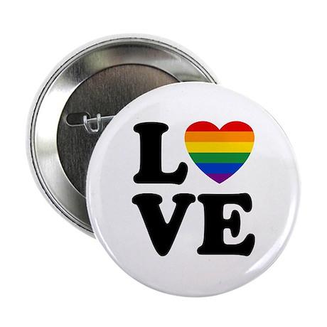 """Gay Love 2.25"""" Button"""