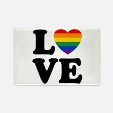 Gay Love Rectangle Magnet