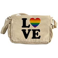 Gay Love Messenger Bag