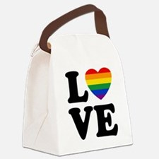 Gay Love Canvas Lunch Bag