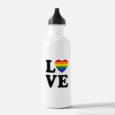 Gay Love Water Bottle