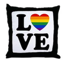 Gay Love Throw Pillow