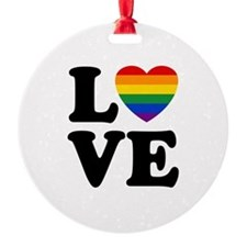 Gay Love Ornament
